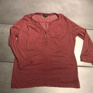 Limited light blouse - red/blue - size large